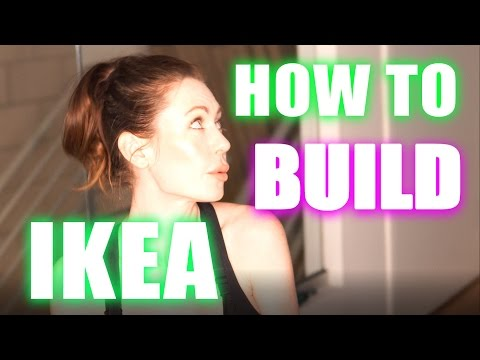 HOW TO BUILD IKEA DRAWERS