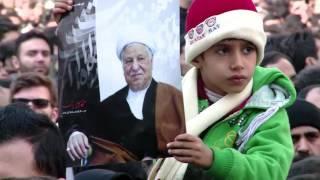 Thousands throng funeral of Iran ex-president Rafsanjani