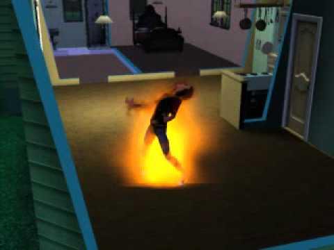sims 3 sim turning in to werewolf