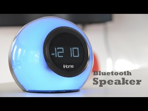 iHome Bluetooth Speaker & Alarm Clock