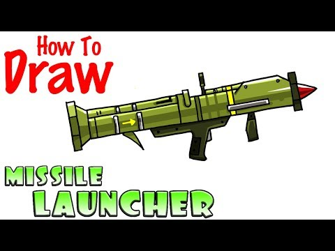 How To Draw The Missile Launcher Fortnite Playingitnow