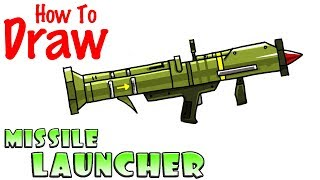 How To Draw Fortnite Guns Smg