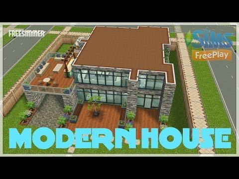 Sims Freeplay - Modern House
