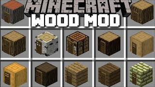 Minecraft CRAFTING TABLE MOD / SPAWN WOODEN HOUSES WITH YOUR CRAFTING TABLE!! Minecraft