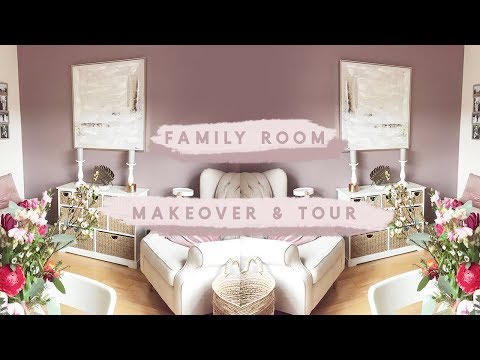 FAMILY ROOM MAKEOVER & TOUR | KATE MURNANE AD