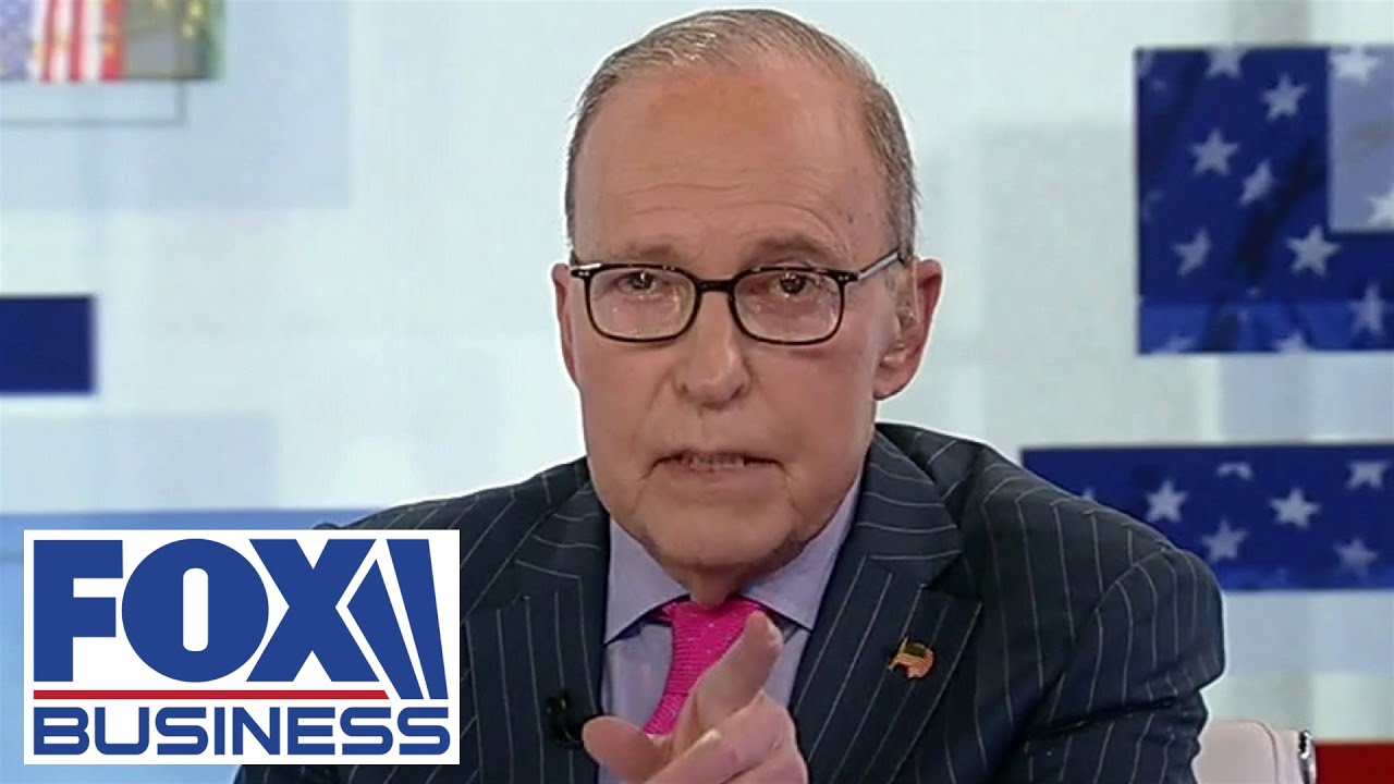 Kudlow 'respectfully' disagrees with Biden's comments on government