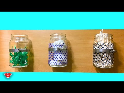 DIY Mason Jar Wall Sconce! | Kristen from Millennial Moms