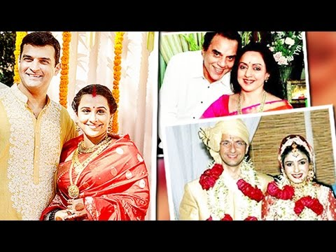 Bollywood Actresses Who Married 'DIVORCED' Men!!