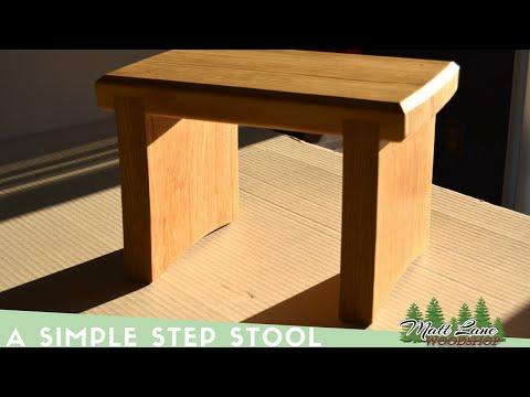 A Simple Step Stool