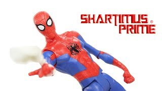 Download Marvel's Spider-Man Into The Spider-Verse Movie Basic 6 Inch Action Figure Toy Review Video