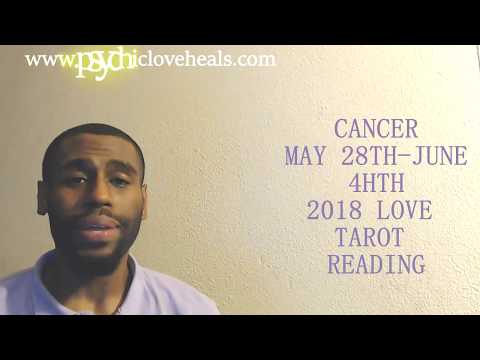 CANCER LOVE TAROT MAY 28TH – JUNE 4TH 2018