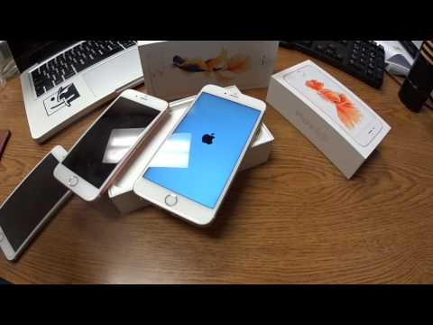 iPhone 6S Plus Gold Unboxing