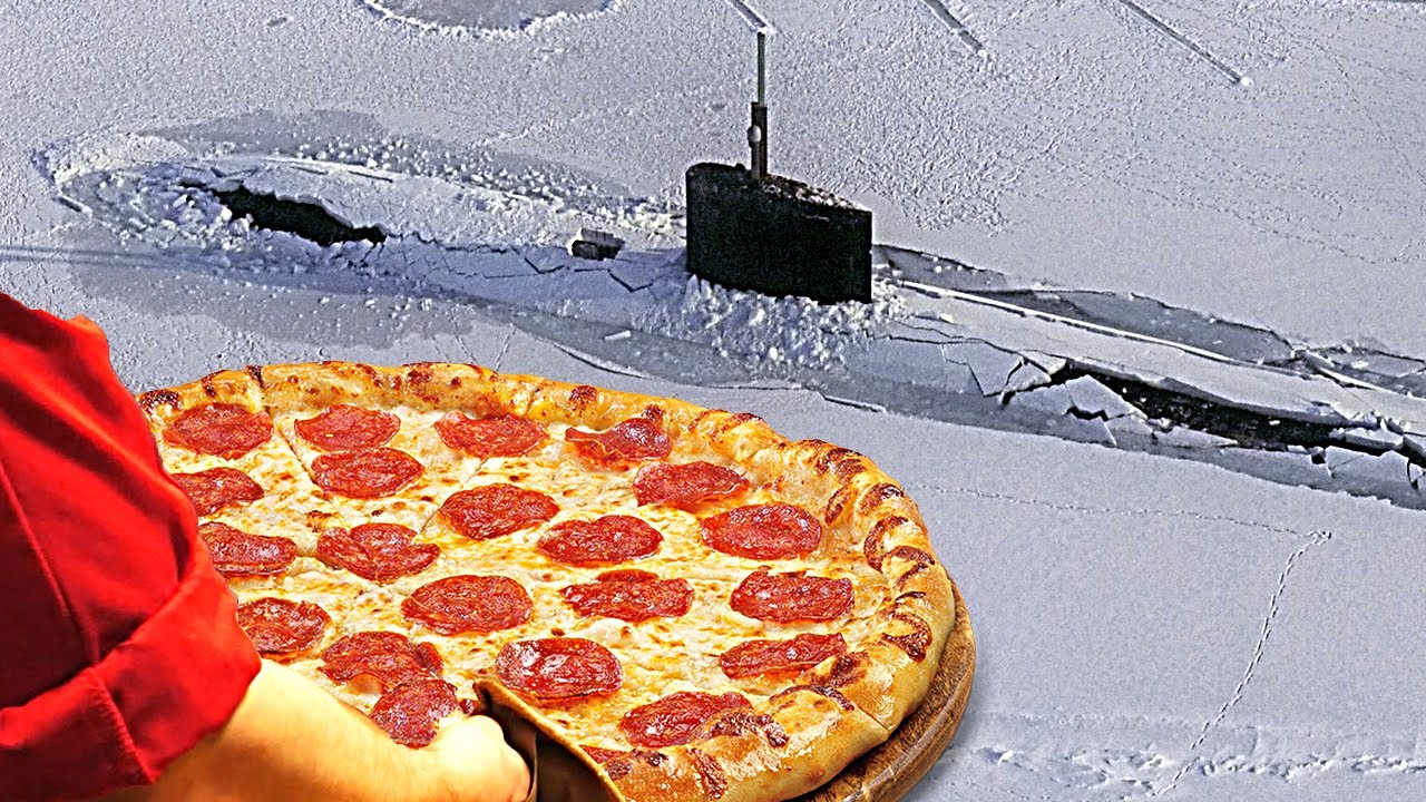 How to Make Pizza on a Submarine - Smarter Every Day 246