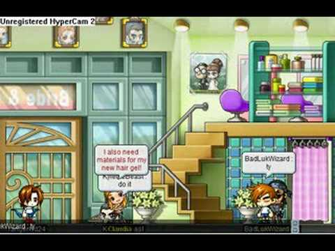 Haircut for noobs (Maplestory)