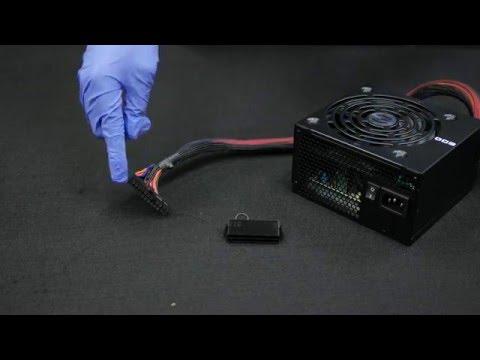 Digital Storm How-To #15b: Check Power Supply using 24-PIN ATX PSU Starter Bridge