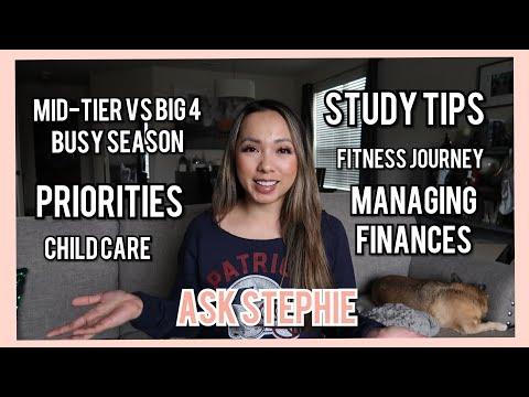 Q&A   Finances & Relationships + Online College + Plans for Child Care + Fitness Progress