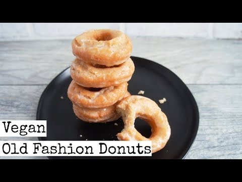 Old Fashion Donuts | Vegan