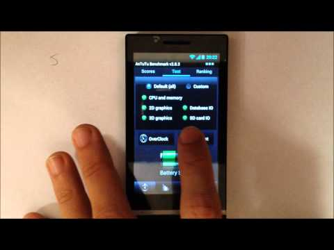 REVIEW BENCHMARKS Star X26i - Dual SIM, MTK6575, Android 4.0.3 ANALISIS
