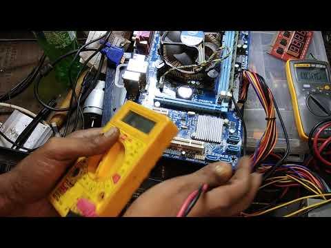 desktop board repair with error code FF FF #Model-Gigabyte ga- h61m-ww