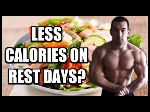 How To Diet On Rest Days (Less Calories On Non Workout Days?)