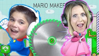 Mario Maker With HobbyMom by HobbyKidsGaming