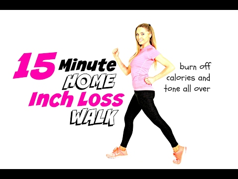 WALKING WORKOUT FOR WEIGHT LOSS-  HOME WORKOUT - easy to follow