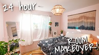Extreme Bedroom Makeover In 24 Hours