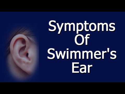 Symptoms of Swimmer's Ear