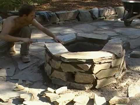 How To Build A Mortar Firepit (Part 9of9).MP4