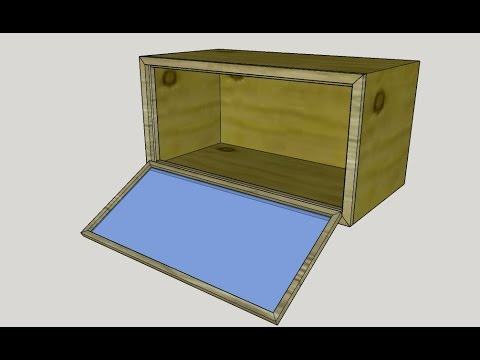 DIY reptile (snake, lizard, gecko, bearded dragon) cage/enclosure creation and building with wood