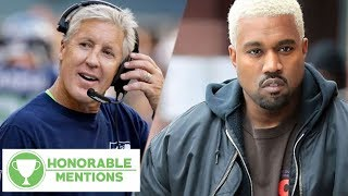 Pete Carroll ROASTS Kanye West And His YEEZY's!   Honorable Mentions