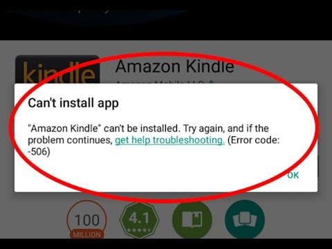 How to fix Can't install app|Error code-506 in Google play store
