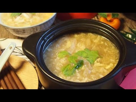 How to cook the Best Fish Maw w/ Seafood Soup 花膠海鲜羹