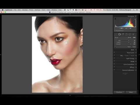#Lightroom Quick Tips Episode 15: Eliminate Shiny Hotspots