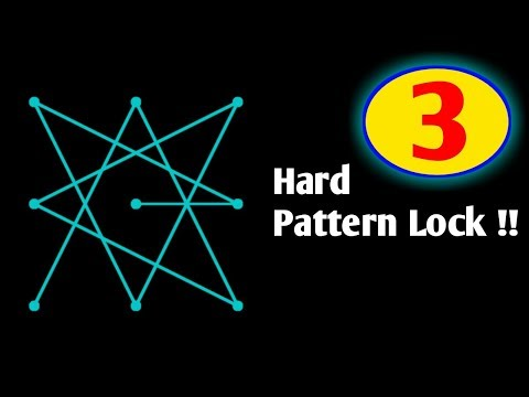 3 Hard Pattern Lock for Android Phones