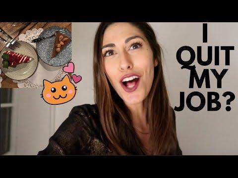 CAT BISTRO + QUITTING MY JOB?   VLOG (sott ita)