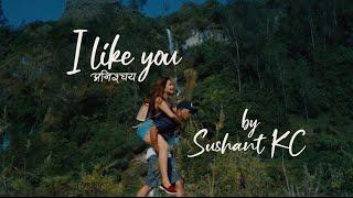 I Like You  'Anishchaya'  - Sushant KC (Official Lyric Video)