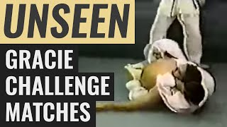 Unseen Gracie Challenge Fights