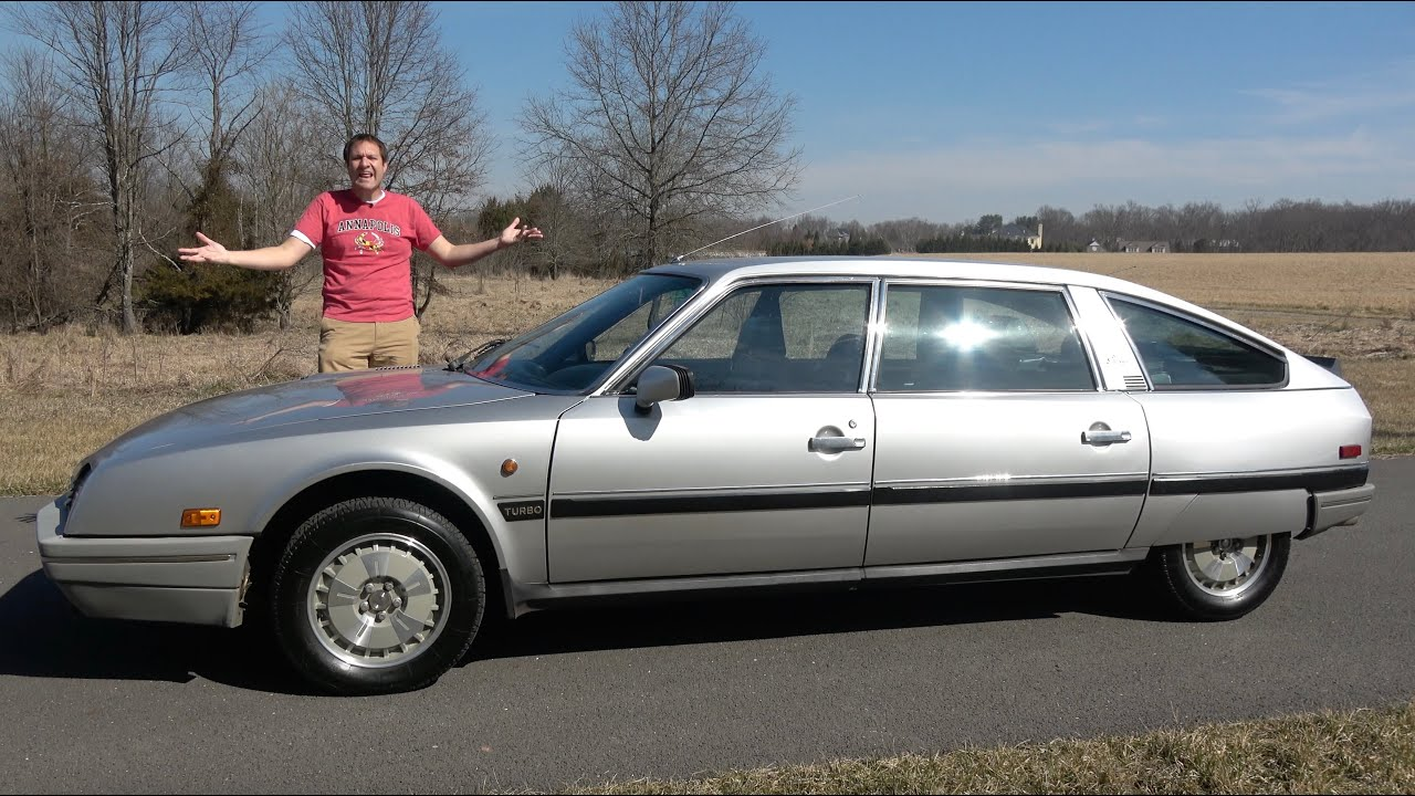 The Citroen CX Is an Amazingly Quirky and Weird French Luxury Car
