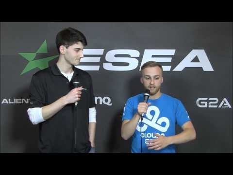 Cloud 9 n0thing interview after c9 knocked out from ESEA lan finals