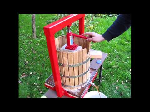 Hydraulic press GP-30 - juicer for apples, grapes, berries, fruits, vegetables, wine, cider making