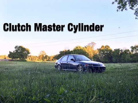 How To Replace the Clutch Master Cylinder In a 92-95 Honda Civic EG