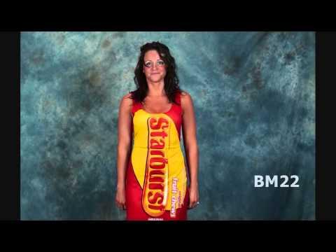 Starburst Candy Tank Dress Halloween Costume Review