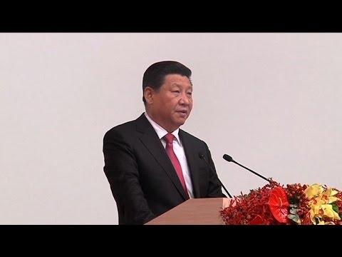 Xi warns Hong Kong and Macau in 'one China' message