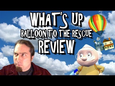 What's Up: Balloon To The Rescue! Review - TRAILER