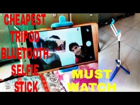 Cheapest Tripod Bluetooth Selfie Stick | ₹ 479 Bluetooth selfie stick |Best cheap Tripod for creator