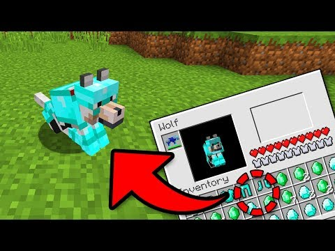WOLF ARMOR in MCPE 1.2?!! - Minecraft Pocket Edition