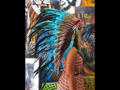 Indian Feather Headpiece for Fashion - Indian Headdress