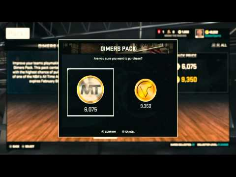 NBA 2k15 - Opening Historic V.I.P Packs and Dimer Packs! WE PULLED A RUBY! NBA 2k15 My Team Ep1