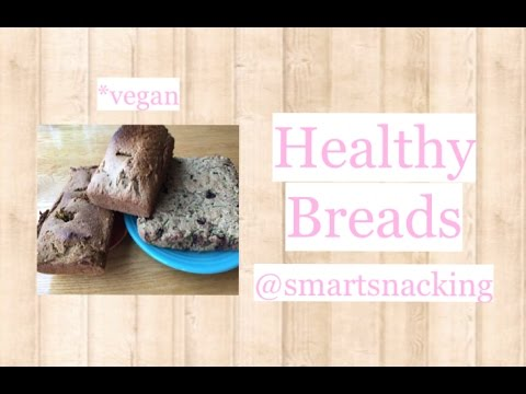 Healthy Bread Recipes   Vegan & Easy